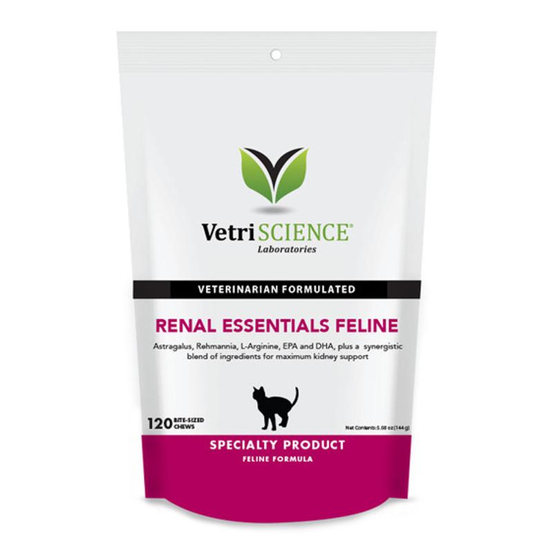 Renal Essentials Feline Bite-Sized Chews120ct.